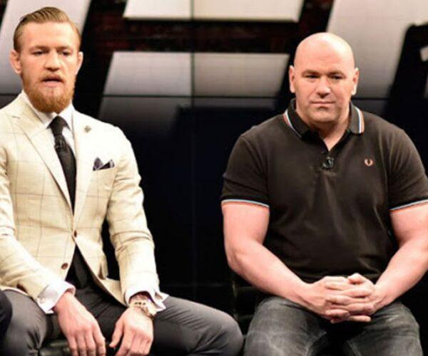 Дана Уайт не исключил возвращения Макгрегора в UFC