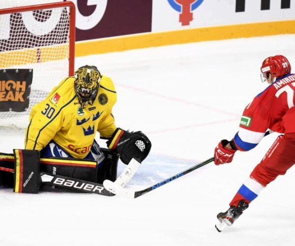 Хоккей. Кубок Первого канала. Швеция – Россия. Прямая трансляция