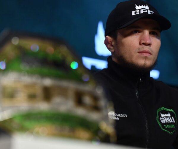 UFC подтвердил дебютный бой Умара Нурмагомедова