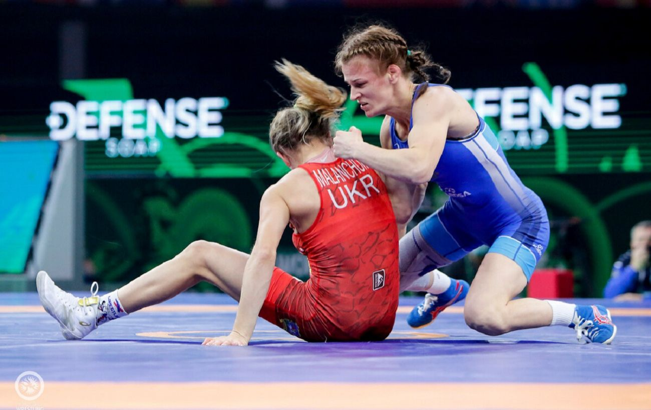Украинки завоевали еще три медали на Кубке мира по борьбе