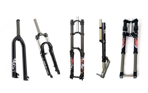 Вилки для велосипеда: виды и особенности
