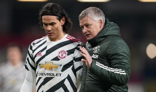 В Манчестер Юнайтед уверены, что Кавани останется в клубе