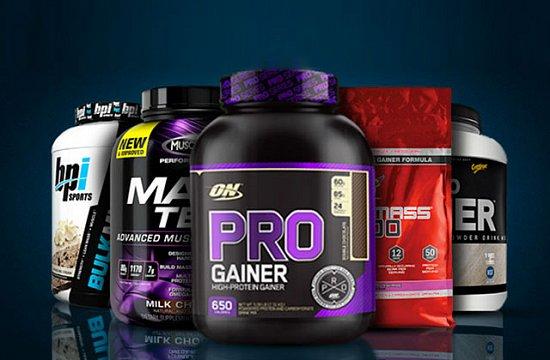 Такое спортивное питание, как гейнеры очень популярны среди спортсменов, которые стремятся к набору мышечной массы.
