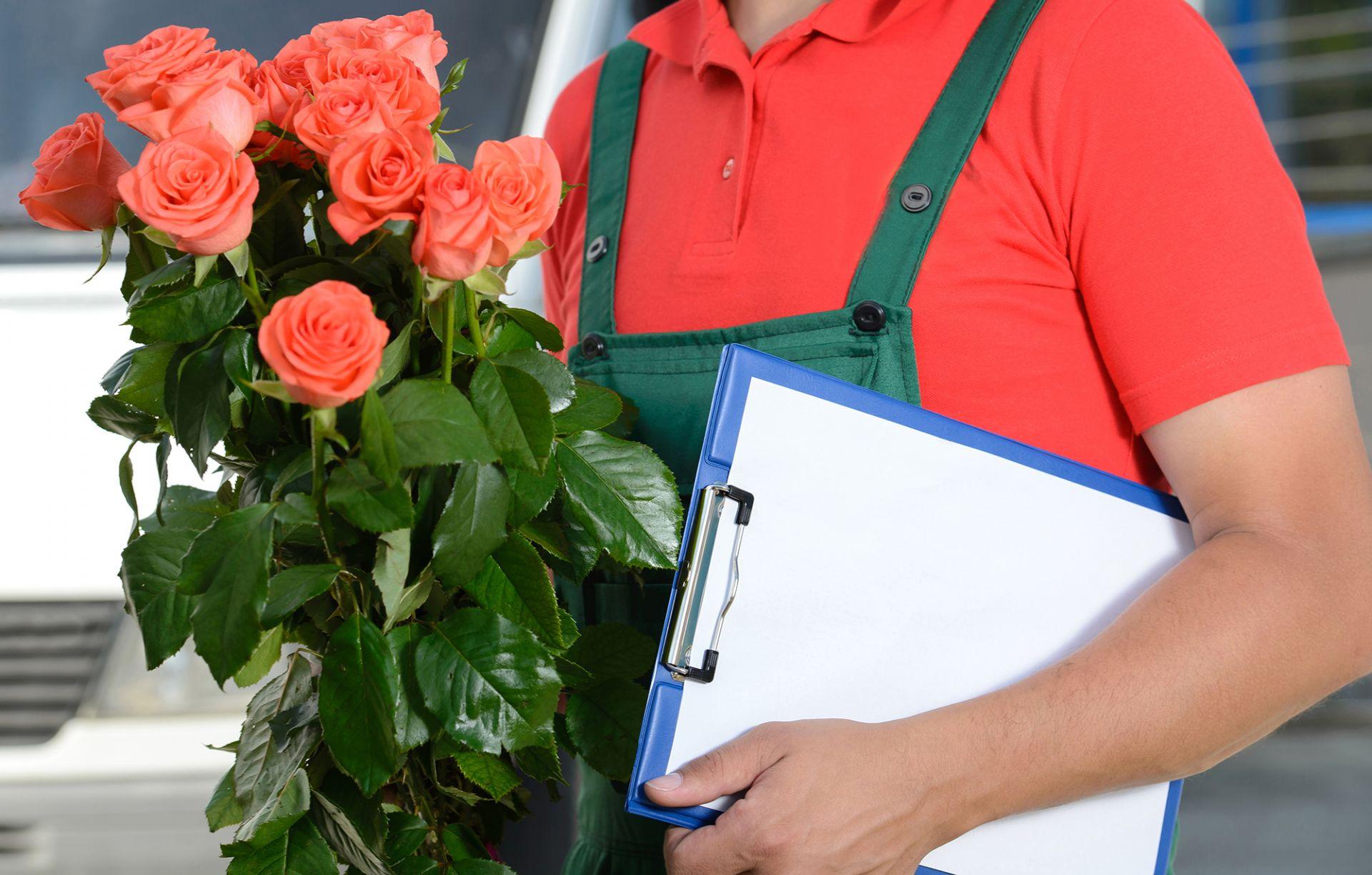Особенности доставки цветов профессионалами