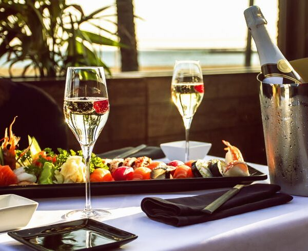 Как сочетать вино и суши?